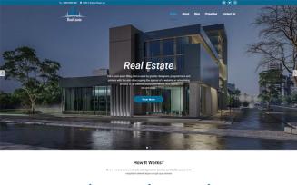 Real Estate Property Management WordPress Theme