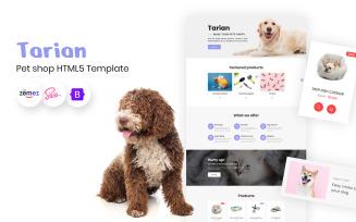Tarian - Animal shelter, Exotic Birds HTML5 Template