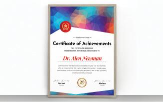 Creative Certificate of Achivements