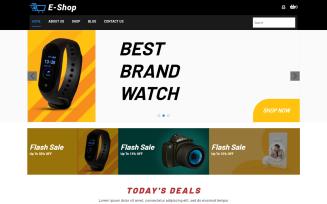 E-Shop E-commerce WordPress Theme