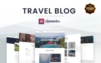 Elementor's Ultimate Web Kit for Travel and Adventure Blogging