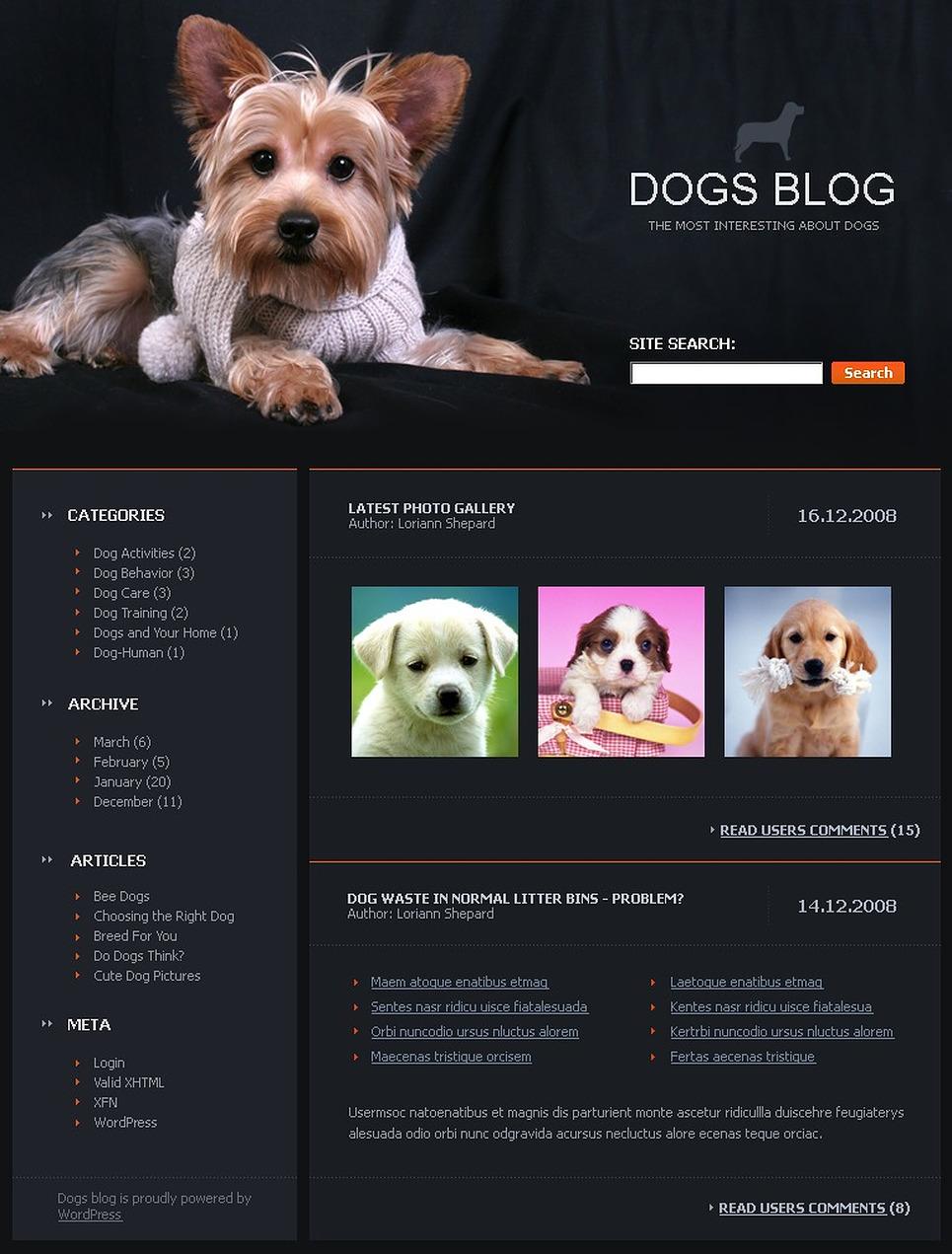 Создание сайтов для собак поймите что раскрутка сайтов это увеличит продажи