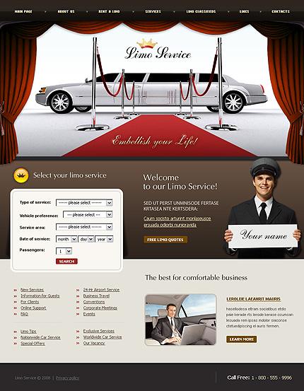 Propriul site prezentare limuzine