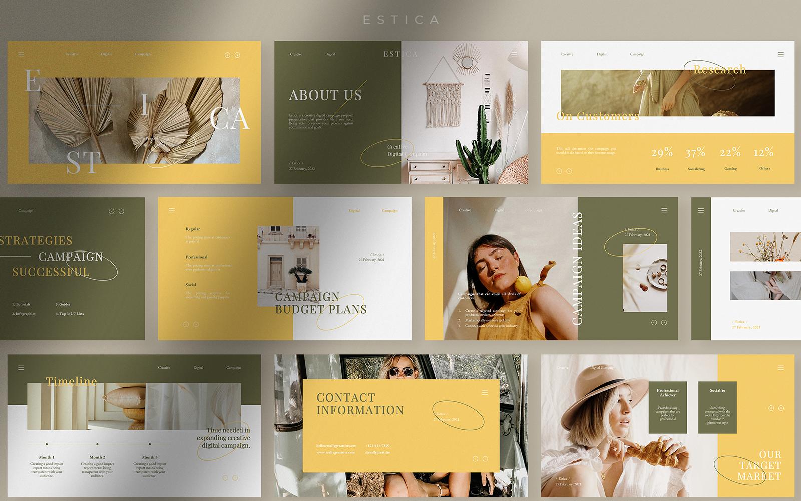 Estica - Creative Digital Campaign