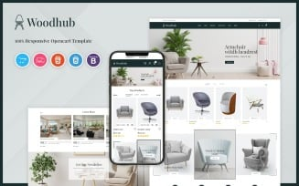 Woodhub - Furniture OpenCart Template
