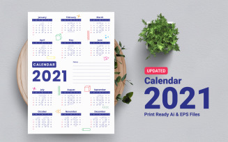 Quality And Creative Calendar 2021 Planner