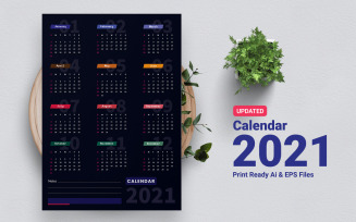 Quality And Perfect Calendar 2021 Planner
