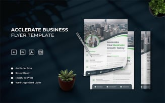 Acclerate Business - Flyer Template