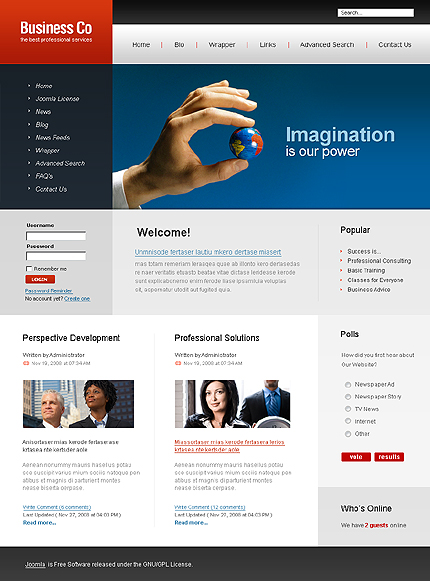 joomla template editor dreamweaver
