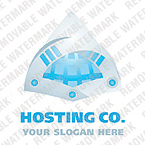 Web Hosting Logo  Template 19341