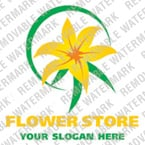 Flowers Logo  Template 19343