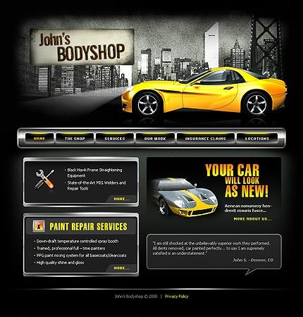 Creare site service auto