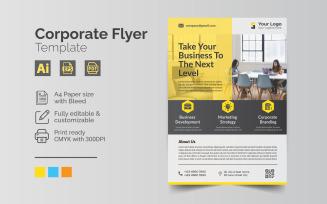 Simple Creative professional Corporate Flyer Template