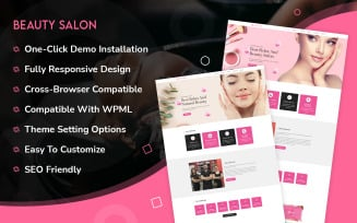 Beauty Salon Multipurpose WordPress Theme