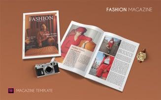 Fashion - Magazine Template