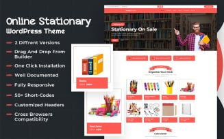 Online Stationery WooCommerce Theme