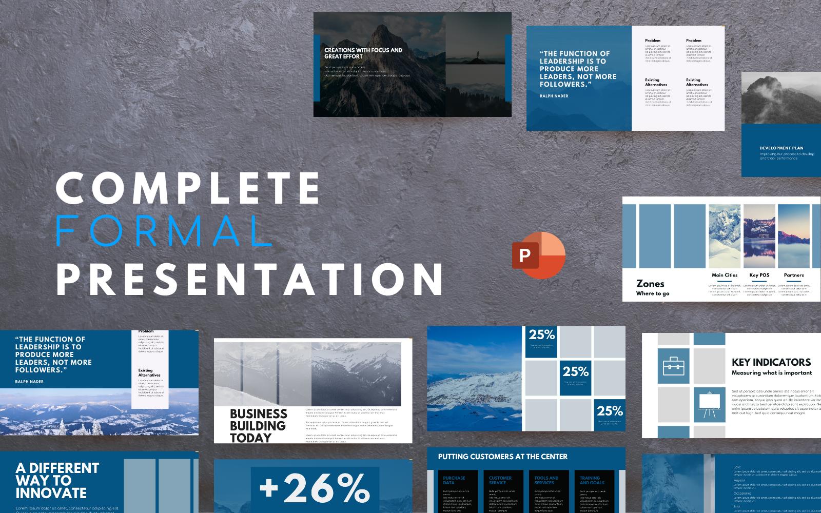 Aspiration - Multipurpose Modern and Professional PowerPoint Presentation