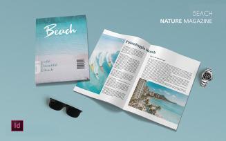 Beach - Magazine Template