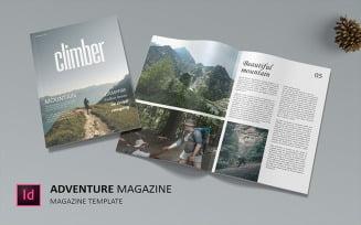 Climber - Magazine Template