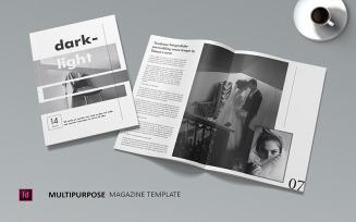 Darklight - Magazine Template