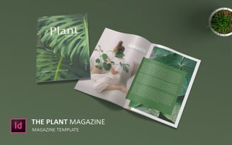 Plant - Magazine Template