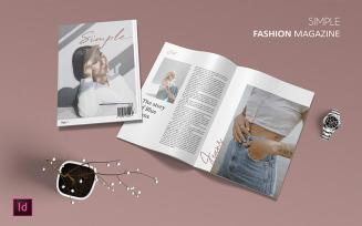Simple - Magazine Template