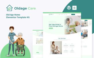 OldAge - Elderly Care Elementor Kit