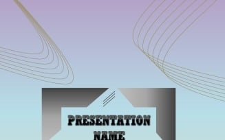 PowerPoint Template - Abstract Lines FREE