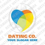 Dating Logo  Template 19427