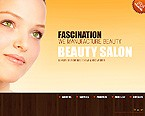Flash: Beauty Flash Site Flash 8 Wide Templates