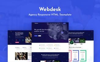 Webdesk - Agency Responsive Website Template