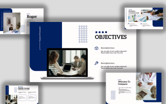 Template Powerpoint Design Multipurpose, Creative And Modern Free