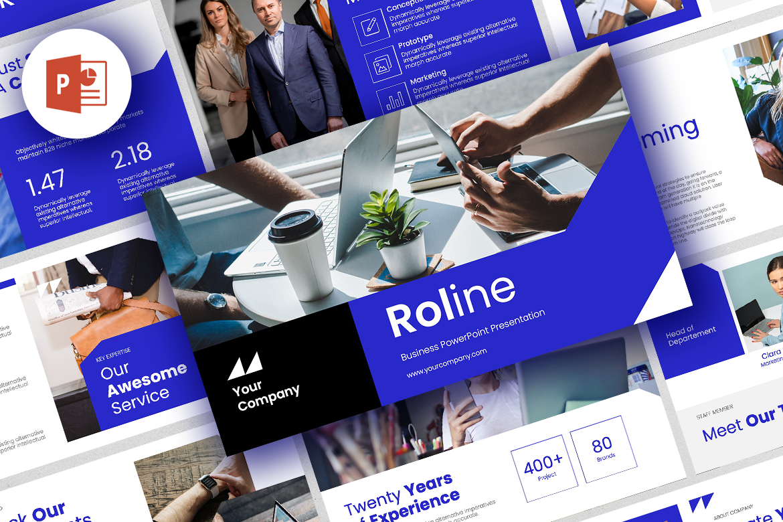 ROLINE PowerPoint Business Presentation
