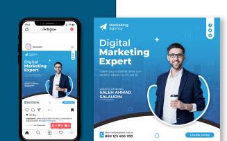 Digital Marketing Promotion Social Media Banner Templates