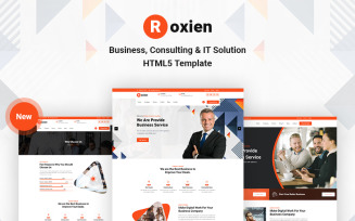 Roxien - Business and Consulting HTML5 Website Template