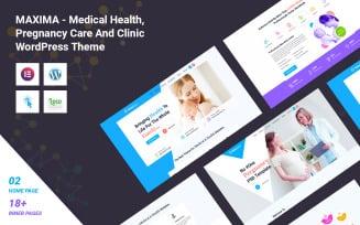 Maxima - Medical Health, Pregnancy Care And Clinic WordPress Theme