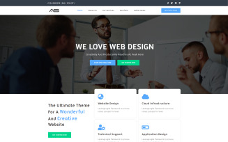 Ela   Corporate HTML5 Landing Page Template