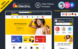 Electro – Electronic Multipurpose PrestaShop Theme