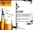 denver style site graphic designs beer  bar pub store barmen drink waiter  plates dishes cooking beers private party food menu glass goblet foam fresh