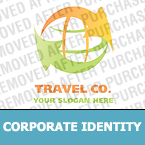 Travel Corporate Identity Template 19568
