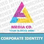 Media Corporate Identity Template 19572