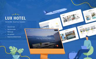 Hotel & BnB WordPress Theme - LuxHotel