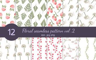 Floral Seamless Pattern Vol. 2