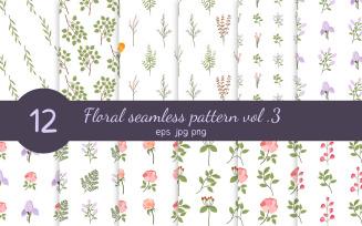Floral Seamless Pattern Vol. 3