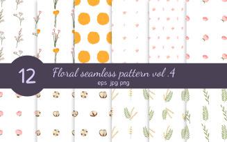 Floral Seamless Pattern Vol. 4