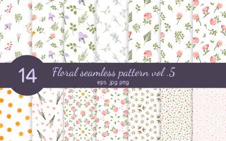 Floral Seamless Pattern Vol. 5