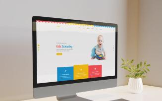 Educ | Kids School HTML5 Landing Page Template