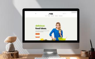 Mun   FoodBlog HTML5 Landing Page Template