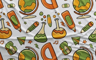 Back to School #02 - Vector Seamless Pattern
