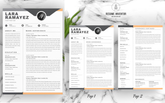Lara Ramayez / CV Template